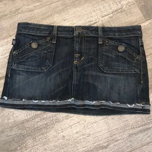 ROCK AND REPUBLIC - JEAN SKIRT 26